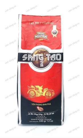 Вьетнамский молотый кофе Trung Nguyen Sang Tao №3, 340 гр.