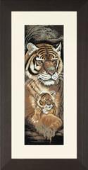 Lanarte Tiger and Cub (Материнский инстинкт)