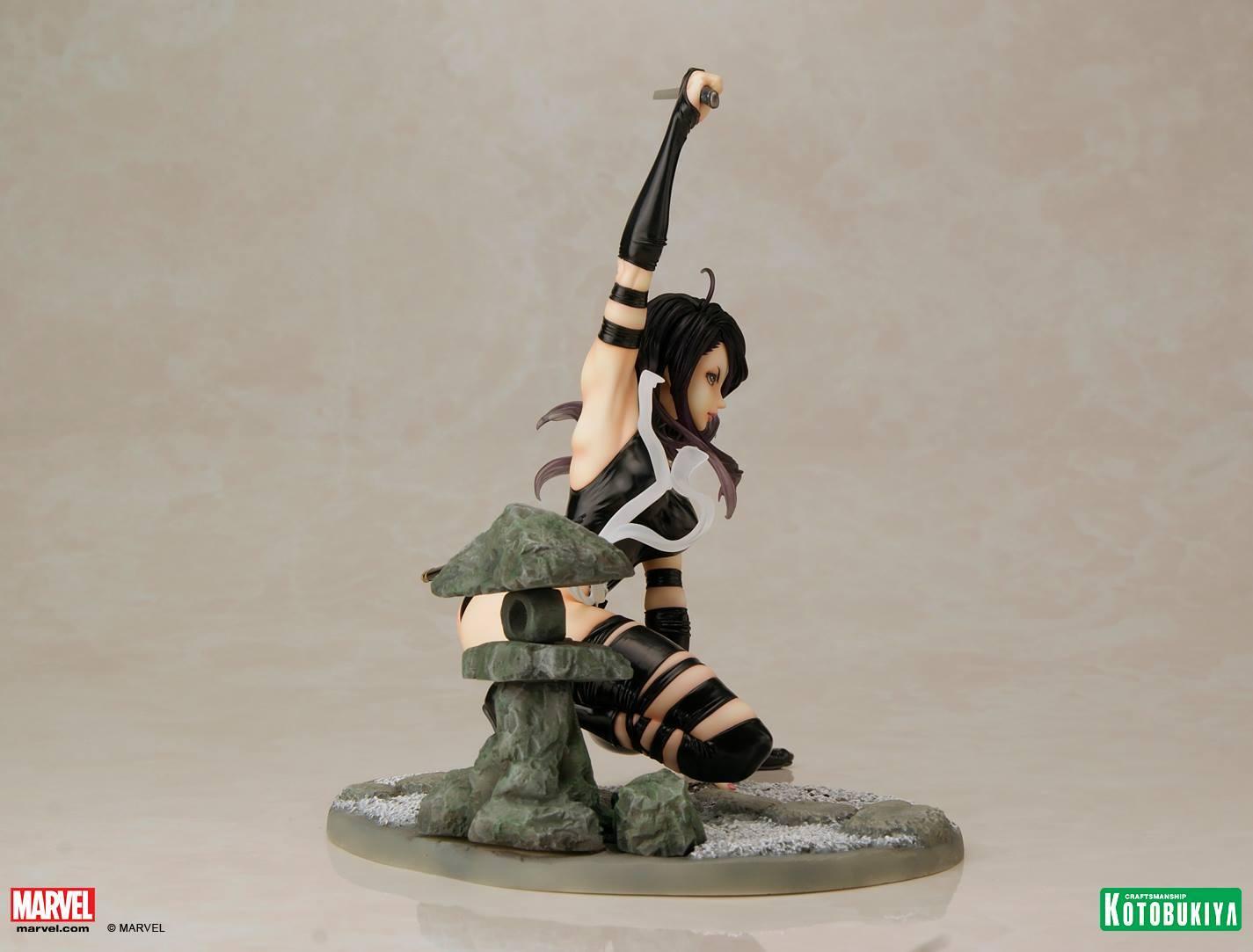 Marvel Bishoujo Psylocke X-Force Statue