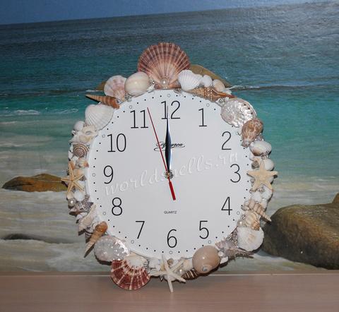Как сделать часы в морском стиле. Мастер-класс.