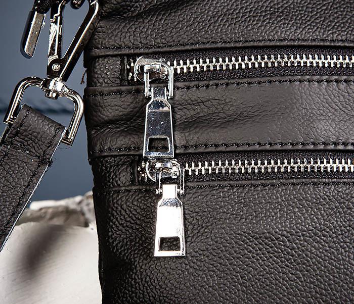 BAG538-1 Мужская сумка планшет с ремнем через плечо фото 05