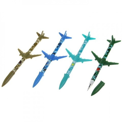 061-9909 Ручка шариковая-прикол, «Ракета», МИКС (1 шт)