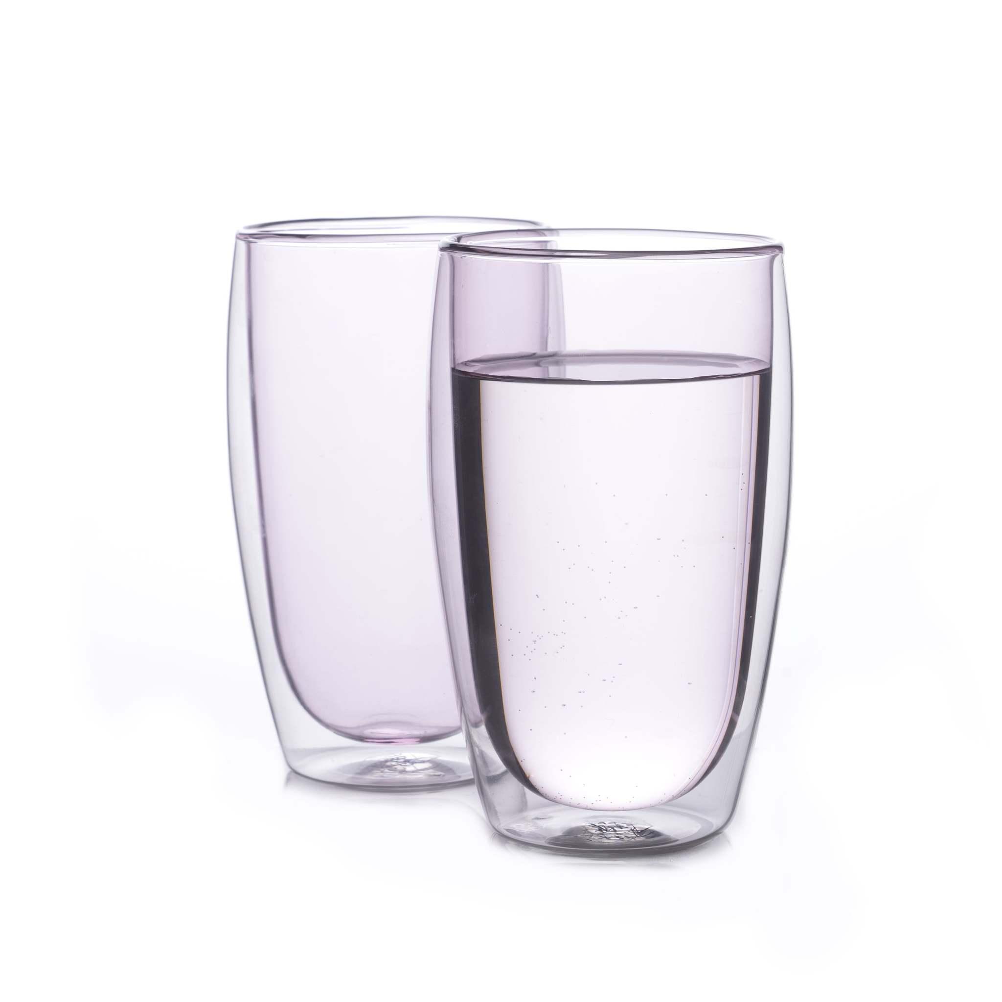 Наборы-Акции Набор стаканов из двойного стекла розового цвета 450 мл, 2 шт. розовый1-min.jpg