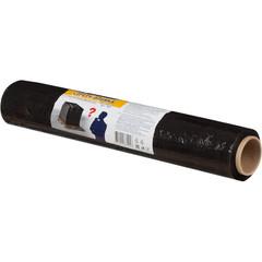 Стрейч-пленка для ручной упаковки вес 1 кг 23 мкм x 45 см x 100 м черная (престрейч 180%)