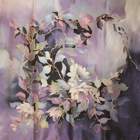 Платок Фиолетовый сон С-74