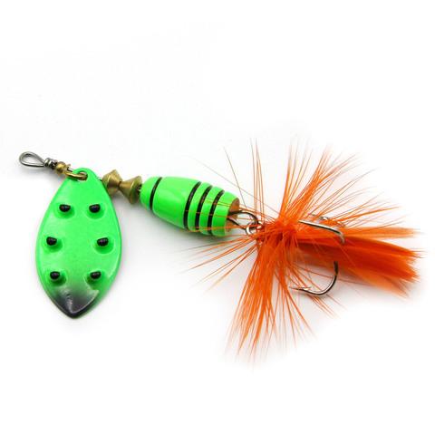 Блесна Extreme Fishing Total Obsession №3 9g 08-FluoGreen/FluoGr