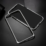 Чехол противоударный магнитный 360 для iPhone 11 Pro (Серебро)
