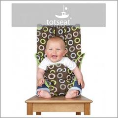 Totseat (Тотсит) дорожный стульчик для кормления шоколад