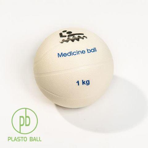 Медицинский мяч Plas-to Ball® весом 1 кг для тренировок ватерполистов