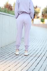 Сиреневый спортивный костюм интернет магазин