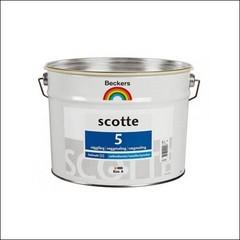 Краска для стен и потолков BECKERS SCOTE 5 База А (Белый)