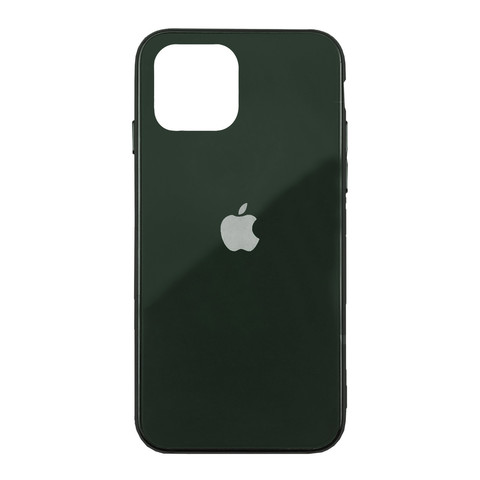 Чехол iPhone 11 Pro Glass Case Logo /green/