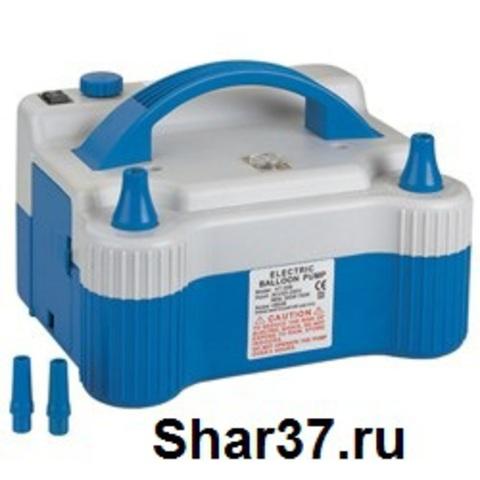 Компрессор для надувания шариков с двумя клапанами (700 ватт)