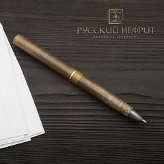 Шариковая ручка из табачного нефрита