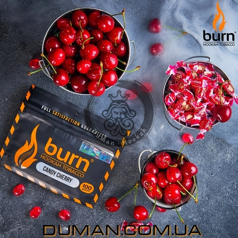Табак Burn Candy Cherry (Берн Карамельная Вишня)
