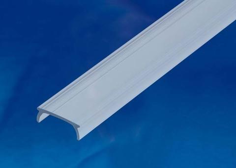 UFE-R11 CLEAR 200 POLYBAG Прозрачный рассеиватель для алюминиевого профиля, пластик. Длина 200 см. ТМ Uniel.