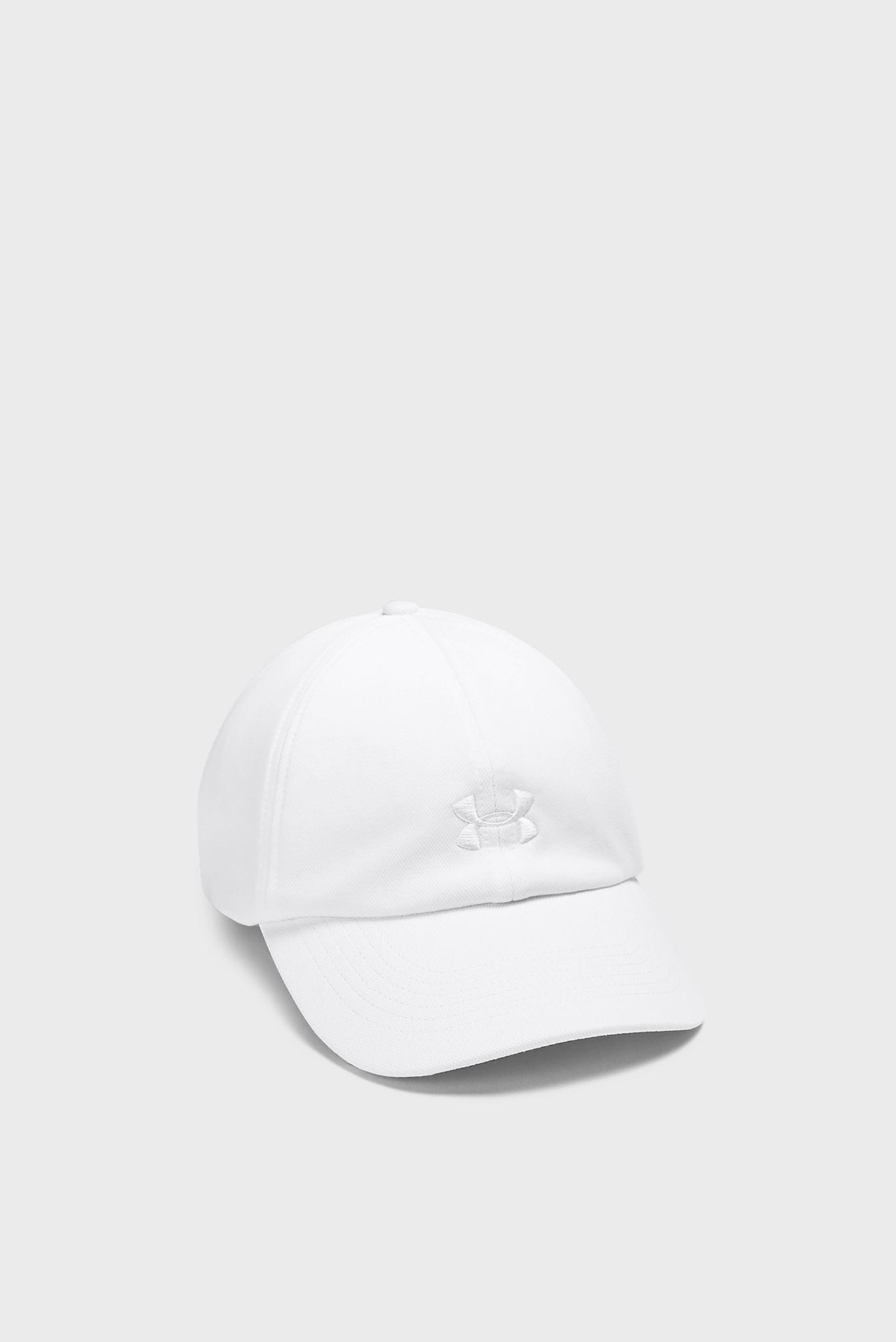 Женская белая кепка UA Play Up Cap Under Armour