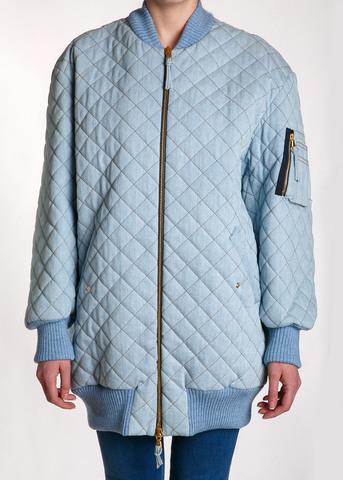 Пальто-бомбер MOSCHINO COUTURE