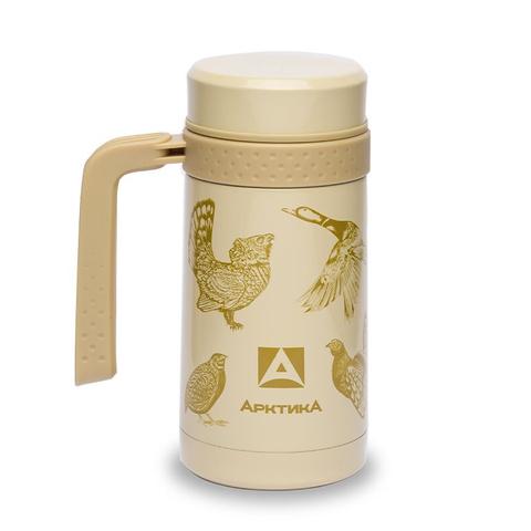Термокружка автомобильная Арктика (0,5 литра), птицы
