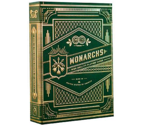 Карты Green Monarchs от Theory11