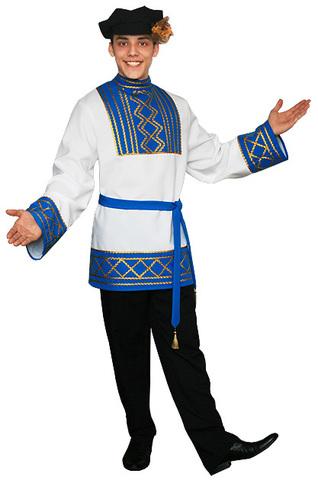 Русский народный костюм Ярослав голубой