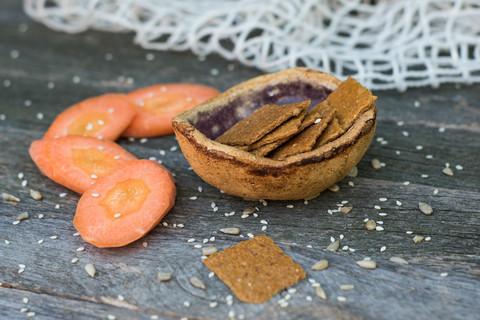 Крекеры MIX Морковные и печенье витаминное