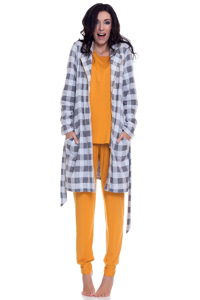 Домашний комплект пижама и халат DolceVita