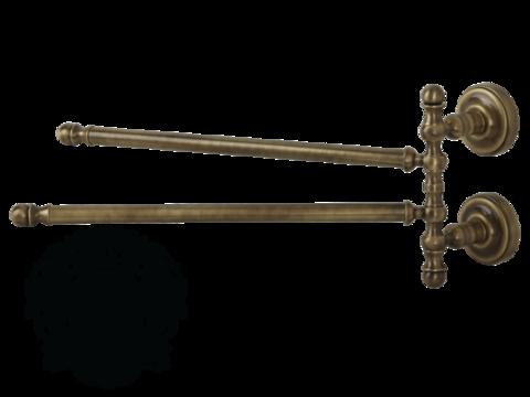 Полотенцедержатель двойной поворотный 34см. Migliore Mirella ML.MRL-M055