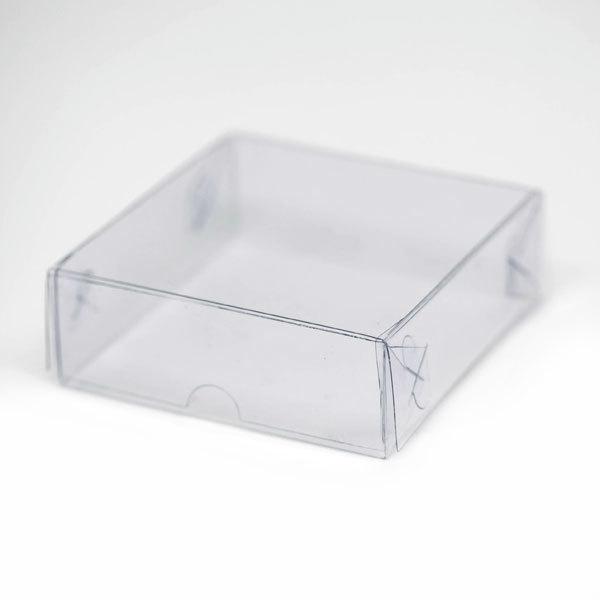 Коробка квадратная пластиковая для мыла