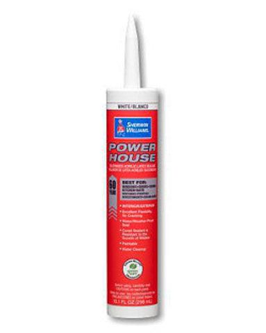 PowerHouse™ Siliconized Acrylic Latex Sealant