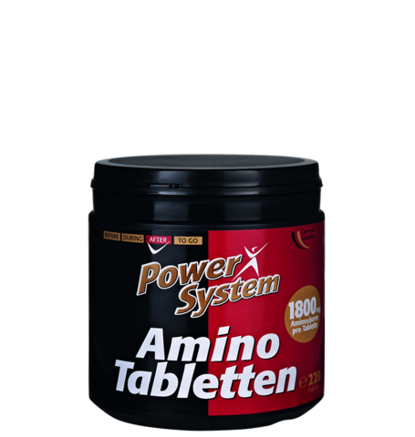 Амино Таблетки 2000 мг, 220 таблеток Пауэр Систем (31.03.2018, Германия)