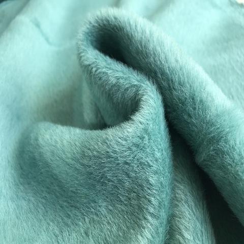 Ткань пальтовая альпака  Piacenza морская волна цвет 3058