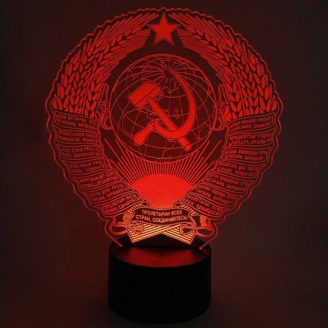 Купить ночник Герб СССР