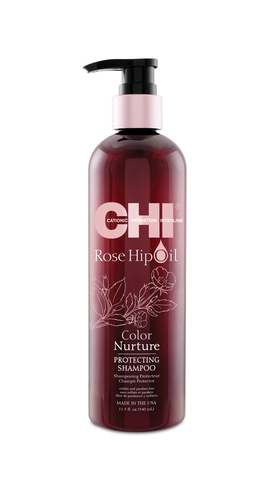 Шампунь CHI Rose Hip Oil Color Nurture Protecting Shampoo