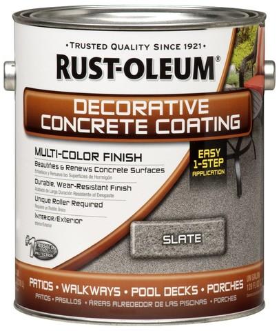 Decorative Concrete Coating Multi-Color Finish декоративное покрытие для бетонных полов