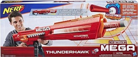 Nerf: Бластер Hasbro Mega Thunderhawk (Фандерхок) E0440  — Hasbro Nerf N-Strike Mega Thunderhawk — Нерф Нёрф Хасбро