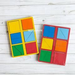 Сложи квадрат Б.П.Никитин 1 уровень (мини)