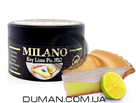 Табак Milano M53 Key Lime Pie (Милано Лаймовый Пирог)