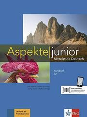 Aspekte junior B2 Kursbuch mit Audios zum Download