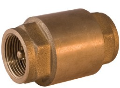 Обратный клапан с металлическим штоком