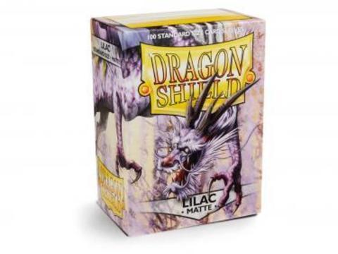 Протекторы Dragon Shield матовые сиреневые (100 шт.)