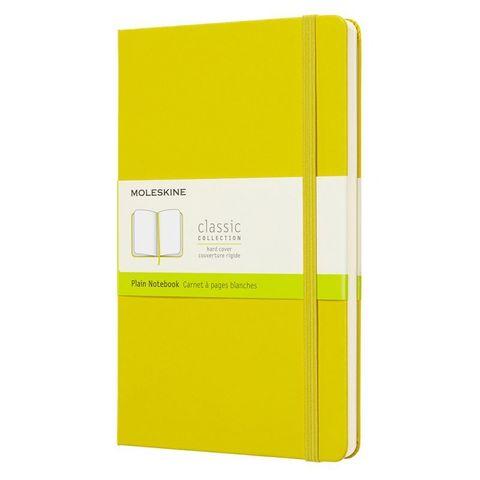 Блокнот Moleskine CLASSIC QP062M18 130х210мм 240стр. нелинованный твердая обложка желтый