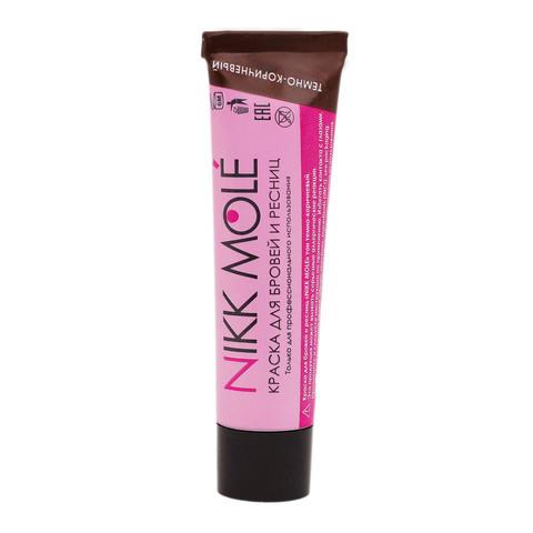 Краска для бровей и ресниц Nikk Mole (темно-коричневый) 15мл