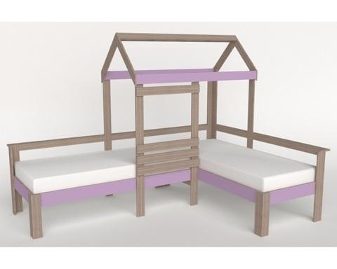 Кровать-домик АВАРА-2 левая