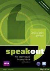 speakout Pre-Intermediate Student's book and DVD/Active Book Multi Rom Pack
