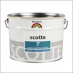 Краска для стен и потолков BECKERS SCOTE 7 База А (Белый)