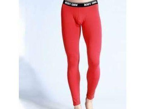 Мужские кальсоны красные Good Men Wear Long Johns
