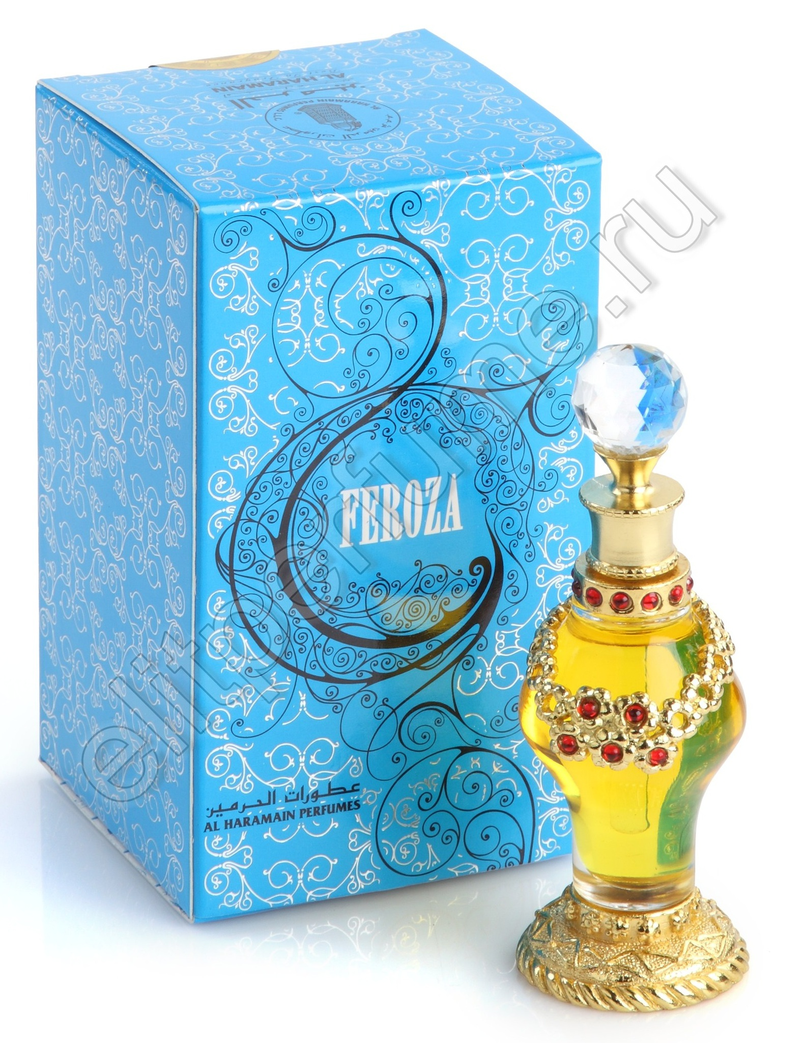 Пробники для духов Фероза Feroza 1 мл арабские масляные духи от Аль Харамайн Al Haramin Perfumes