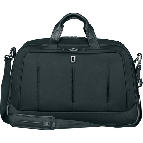 Портфель VICTORINOX VX One Business Duffel 15,6'', чёрная, нейлон 1000D/кожа, 54x20x34 см, 37 л