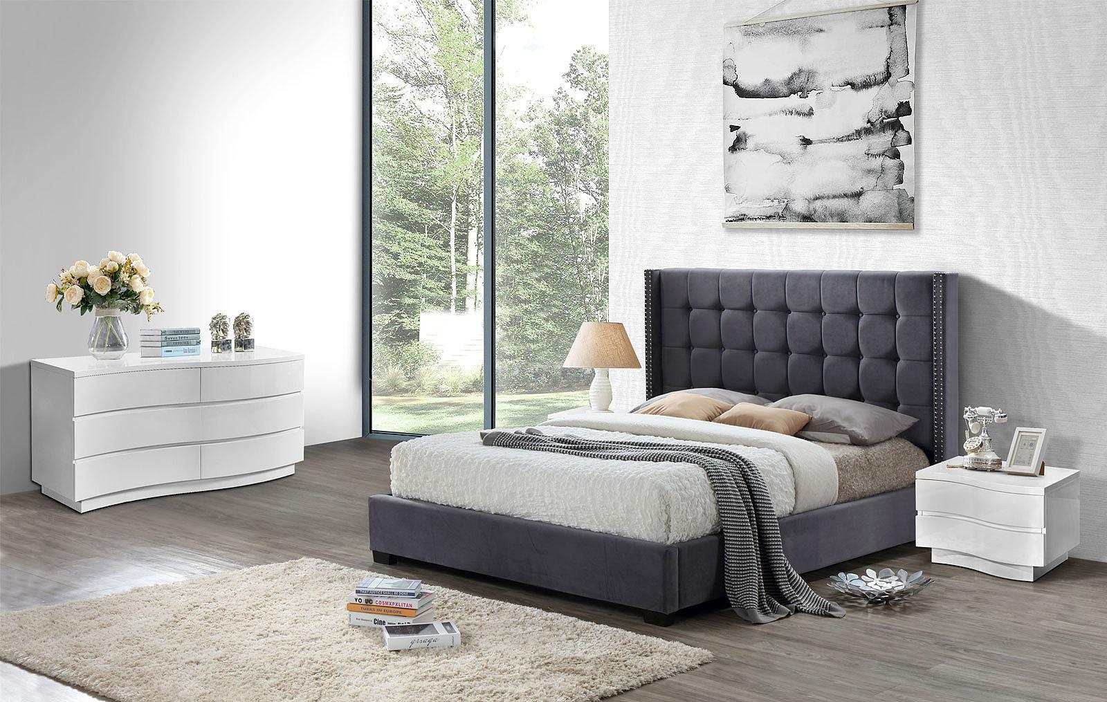 Спальня ESF INFI2868 серый